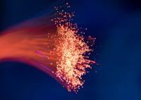 fibre-optic cable installation